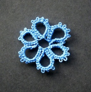Small tatted doily