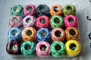 Tatting thread